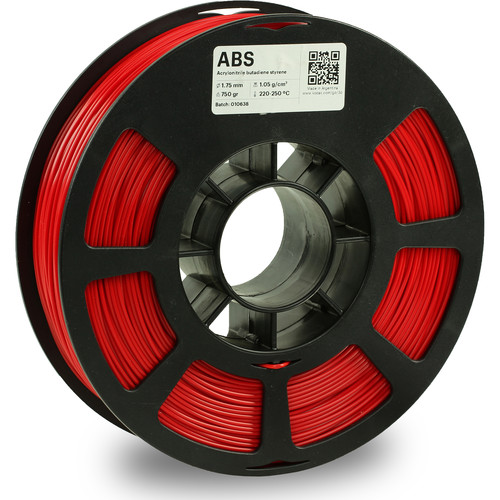 Kodak 1.75mm ABS Filament (750g, Red)