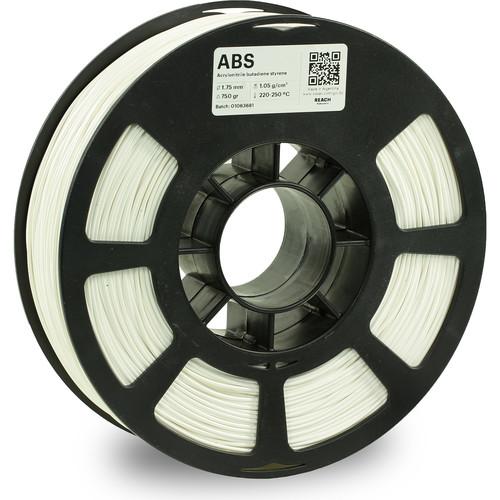 Kodak 1.75mm ABS Filament (750g, White)