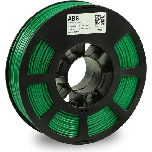 Kodak 2.85mm ABS Filament (750g, Green)