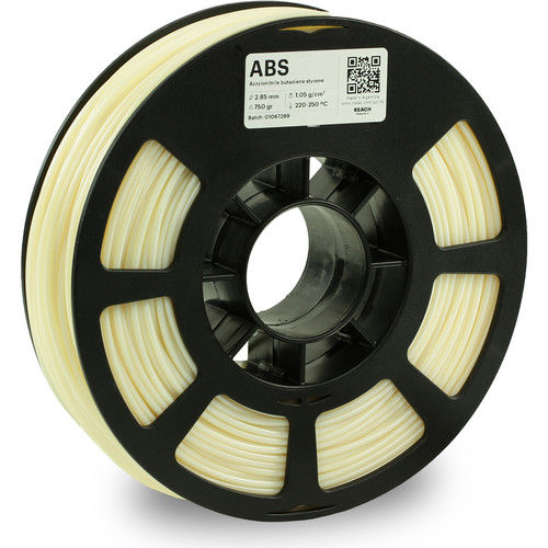 Kodak 2.85mm ABS Filament (750g, Natural)