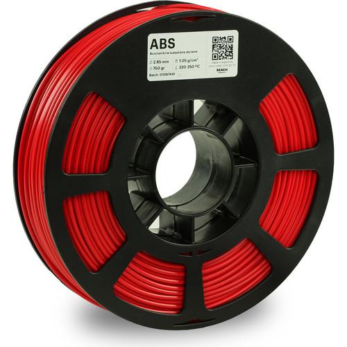 Kodak 2.85mm ABS Filament (750g, Red)