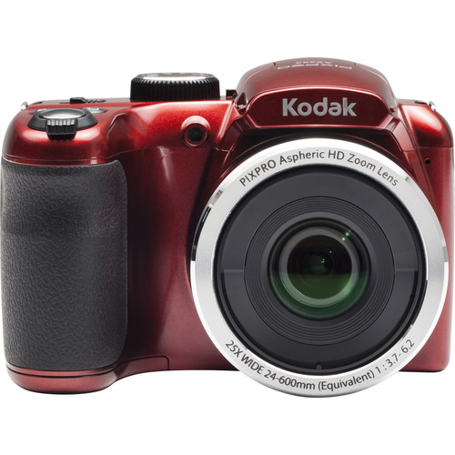 Kodak PIXPRO AZ252 Digital Camera (Red)