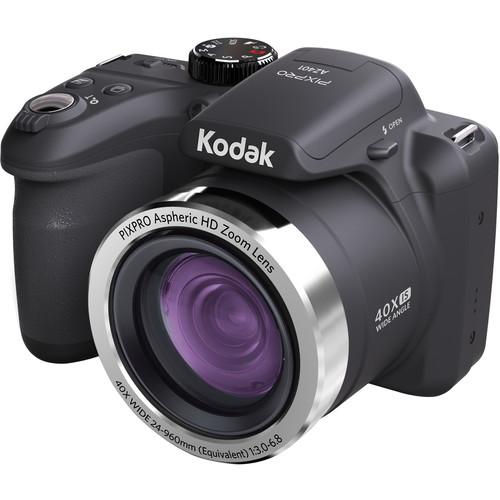 Kodak PIXPRO AZ401 Digital Camera (Black)