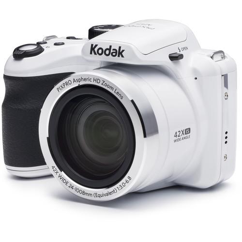 Kodak PIXPRO AZ421 Digital Camera (White)
