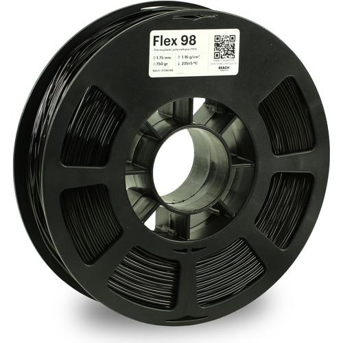Kodak 1.75mm TPU Flex 98 Filament (750g, Black)