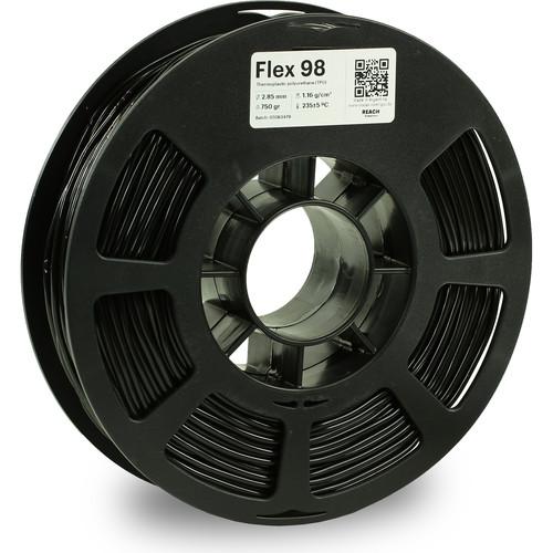 Kodak 2.85mm TPU Flex 98 Filament (750g, Black)