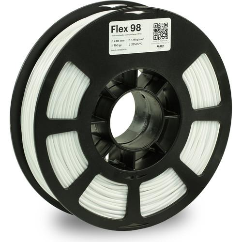 Kodak 2.85mm TPU Flex 98 Filament (750g, White)