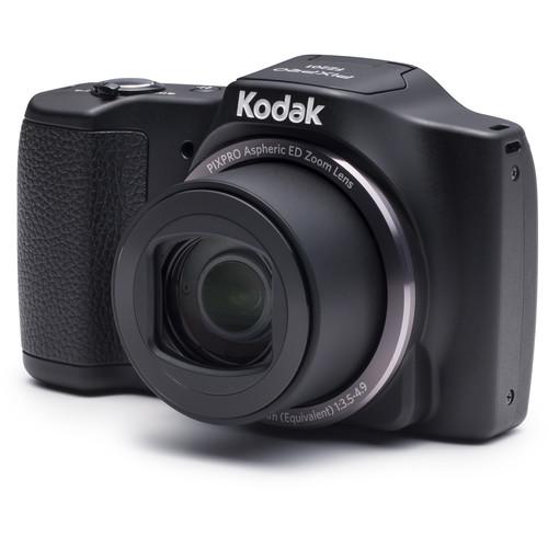 Kodak PIXPRO FZ201 Friendly Zoom Digital Camera (Black)