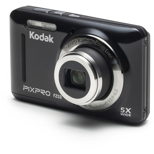 Kodak PIXPRO FZ53 Digital Camera (Black)