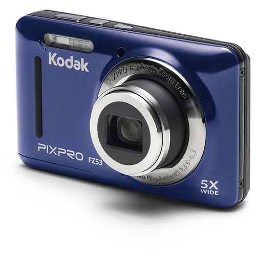Kodak PIXPRO FZ53 Digital Camera (Blue)