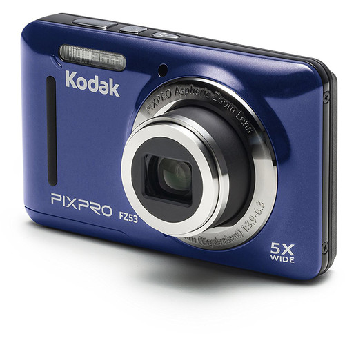 Kodak PIXPRO FZ53 Digital Camera (Blue)