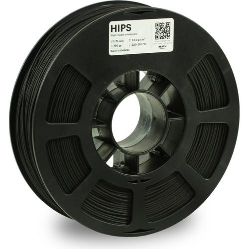 Kodak 1.75mm HIPS Filament (750g, Black)