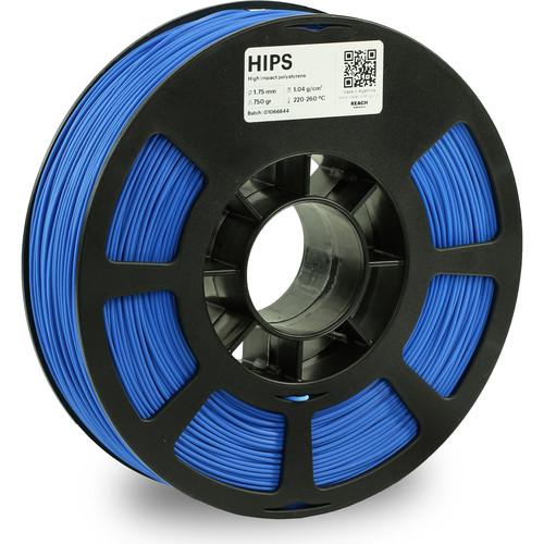 Kodak 1.75mm HIPS Filament (750g, Blue)