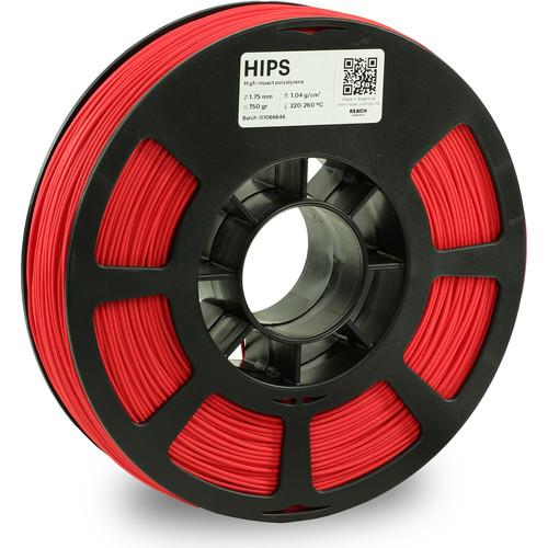 Kodak 1.75mm HIPS Filament (750g, Red)