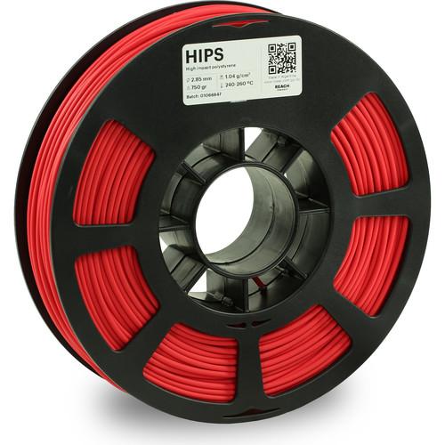 Kodak 2.85mm HIPS Filament (750g, Red)