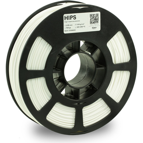 Kodak 2.85mm HIPS Filament (750g, White)