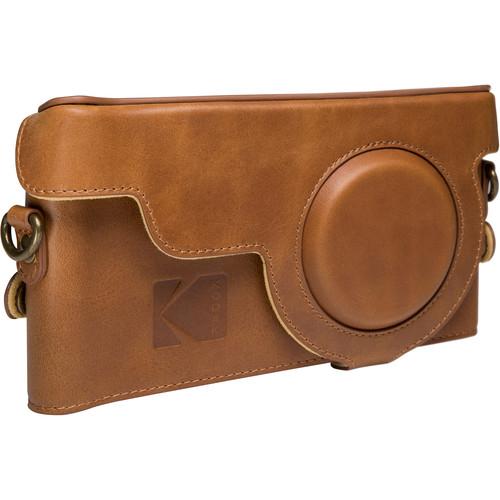 Kodak EKTRA Leather Case (Brown/Yellow)