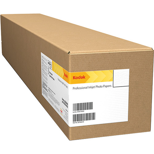 "Kodak PROFESSIONAL Lustre Inkjet Photo Dry Lab Paper (4"" x 328' Roll)"