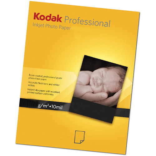 "Kodak Professional Metallic Photo Inkjet Paper (8.5 x 11"", 50 Sheets)"