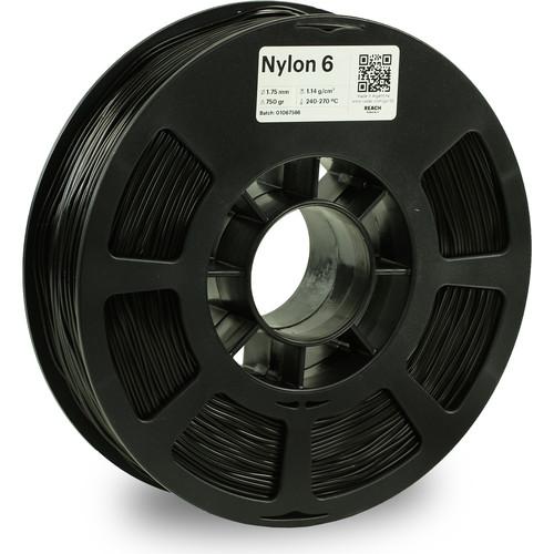 Kodak 1.75mm Nylon 6 Filament (750g, Black)