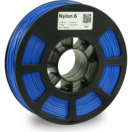 Kodak 1.75mm Nylon 6 Filament (750g, Blue)