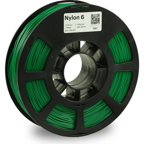 Kodak 1.75mm Nylon 6 Filament (750g, Green)