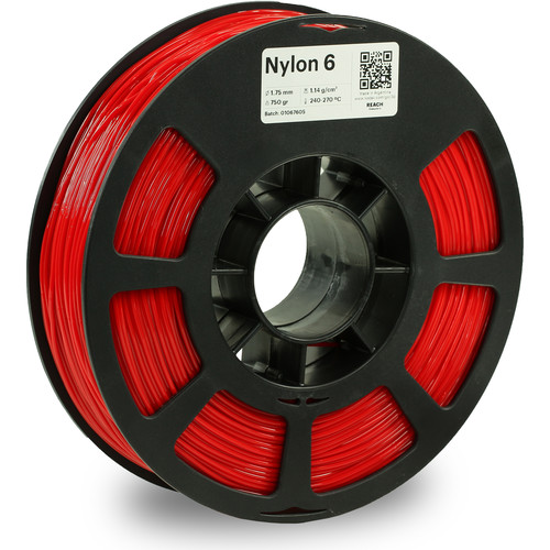 Kodak 1.75mm Nylon 6 Filament (750g, Red)