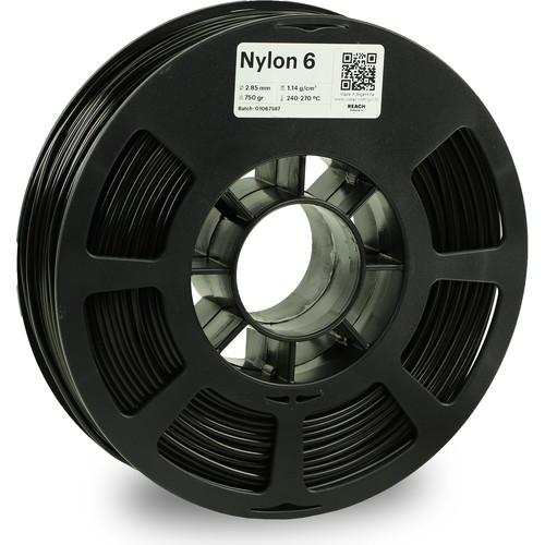 Kodak 2.85mm Nylon 6 Filament (750g, Black)