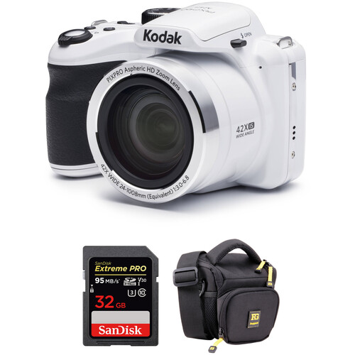 Kodak PIXPRO AZ421 Digital Camera with Accessory Kit