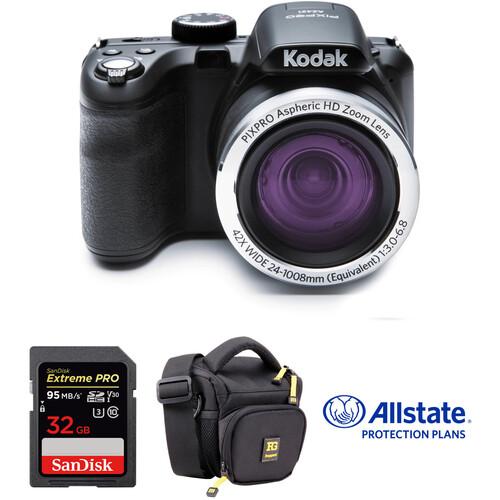 Kodak PIXPRO AZ421 Digital Camera Deluxe Kit (Black)