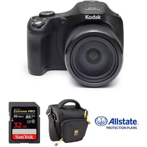 Kodak PIXPRO AZ652 Digital Camera Deluxe Kit