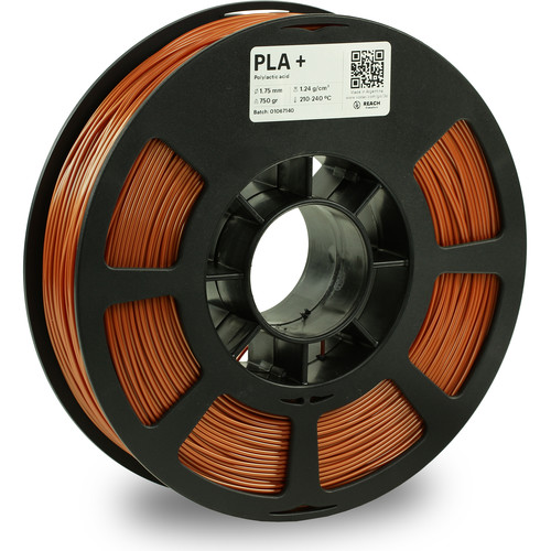 Kodak 1.75mm PLA+ Filament (750g, Copper)