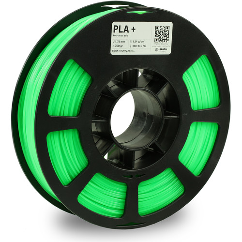 Kodak 1.75mm PLA+ Filament (750g, Neon Green)