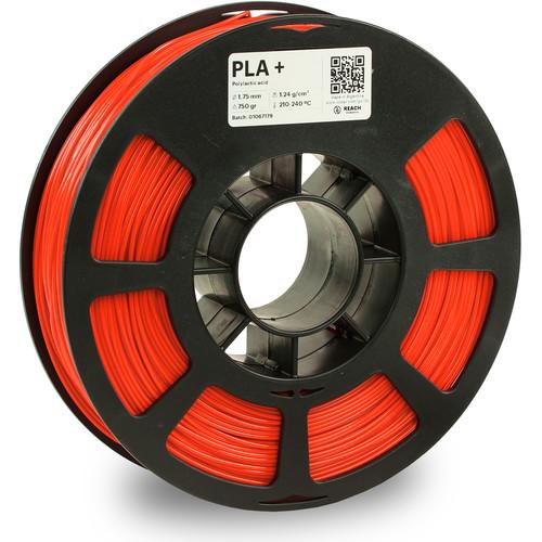 Kodak 1.75mm PLA+ Filament (750g, Neon Orange)