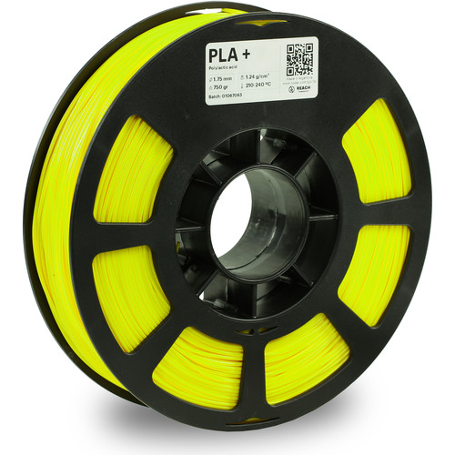 Kodak 1.75mm PLA+ Filament (750g, Neon Yellow)