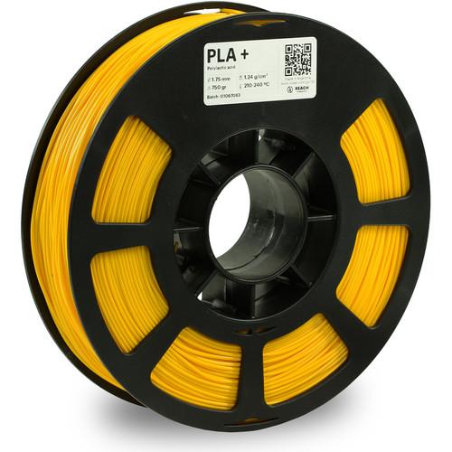 Kodak 1.75mm PLA+ Filament (750g, Yellow)