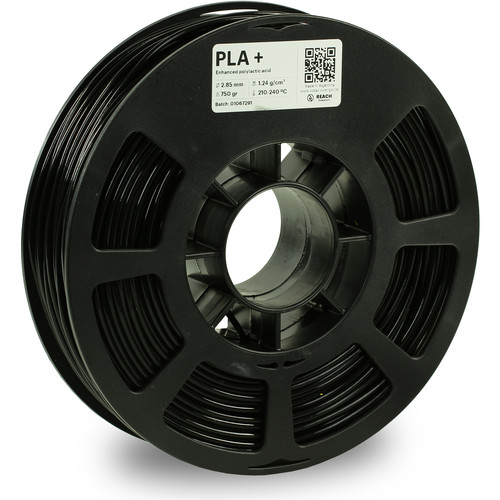 Kodak 2.85mm PLA+ Filament (750g, Black)