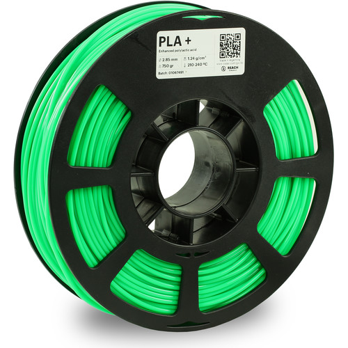 Kodak 2.85mm PLA+ Filament (750g, Neon Green)