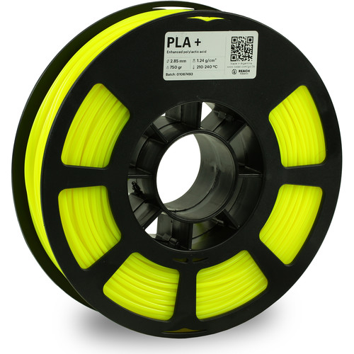 Kodak 2.85mm PLA+ Filament (750g, Neon Yellow)