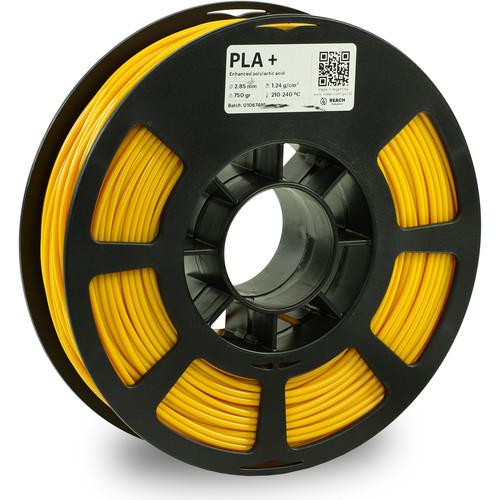 Kodak 2.85mm PLA+ Filament (750g, Yellow)