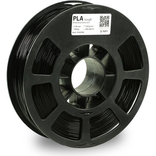 Kodak 1.75mm PLA Tough Filament (750g, Black)