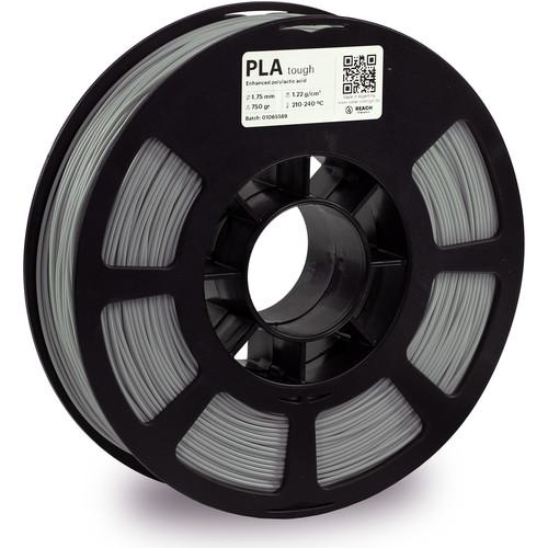 Kodak 1.75mm PLA Tough Filament (750g, Gray)