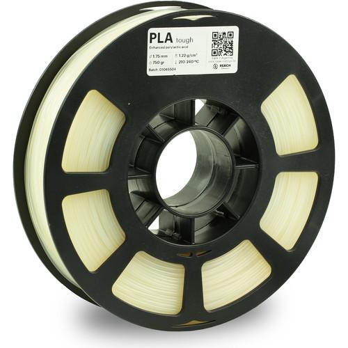 Kodak 1.75mm PLA Tough Filament (750g, Natural)