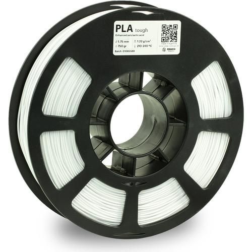 Kodak 1.75mm PLA Tough Filament (750g, White)