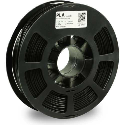 Kodak 2.85mm PLA Tough Filament (750g, Black)