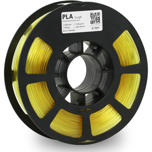 Kodak 2.85mm PLA Tough Filament (750g, Kodak Yellow)