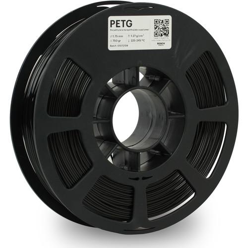Kodak 1.75mm PETG Filament (750g, Black)