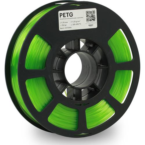 Kodak 1.75mm PETG Filament (750g, Translucent Green)