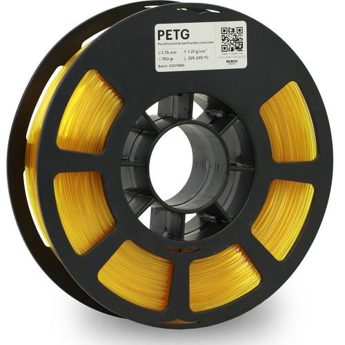 Kodak 1.75mm PETG Filament (750g, Translucent Yellow)