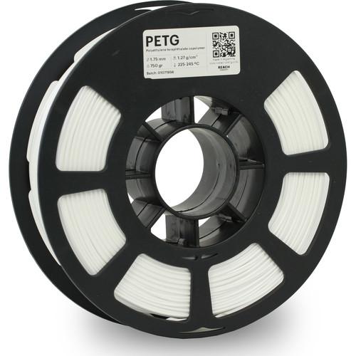 Kodak 1.75mm PETG Filament (750g, White)
